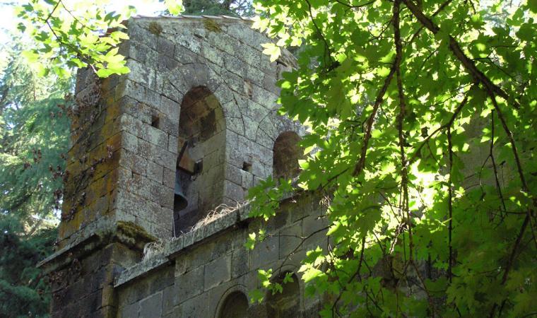 Scorcio della chiesa di san Leonardo