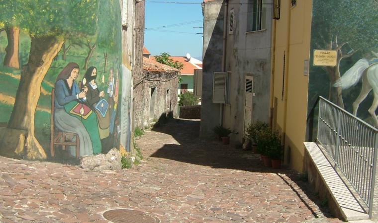 Villanova Monteleone, Murales; Murales, Villanova Monteleone