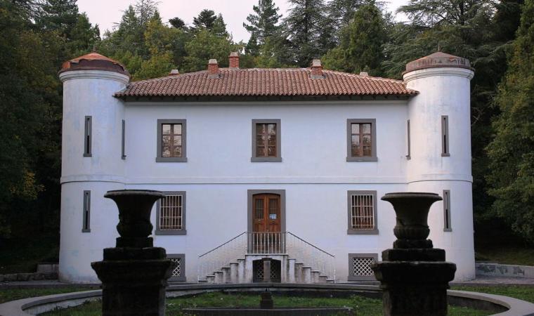 Facciata di villa Piercy - Bolotana