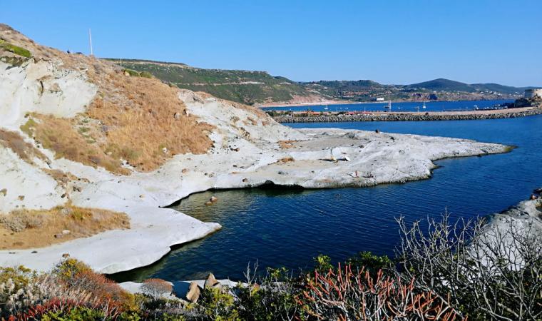 Caane Malu, piscina naturale - Bosa