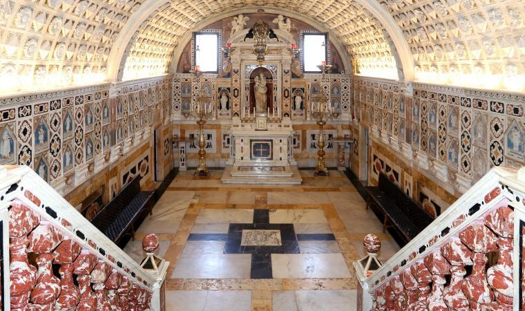 Santuario dei Martiri - Cripta cappella centrale