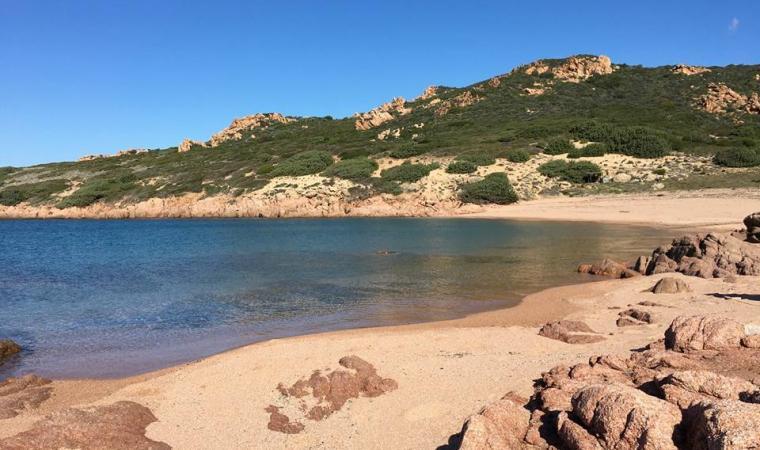 Cala Sarraina, spiaggia