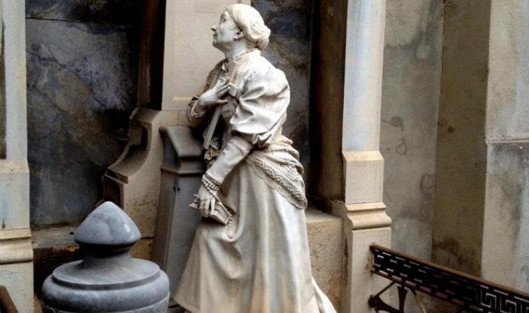 Cimitero di Bonaria - Statua di Sartorio - Cagliari