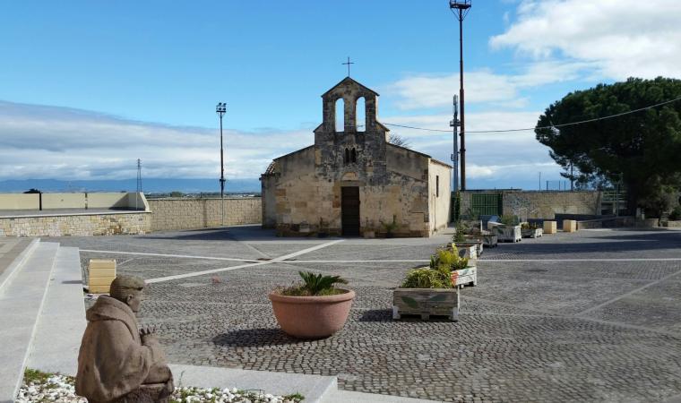 Piazza e chiesa di san Giorgio - Decimoputzu