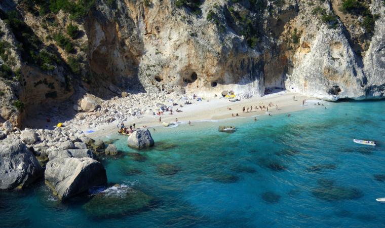 Punta Ispuligi, spiaggia Cala dei Gabbiani; The beach of Cala dei Gabbiani, Punta Ispuligi