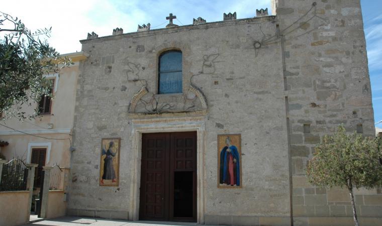 Parrocchiale di san Sperate, facciata - San Sperate