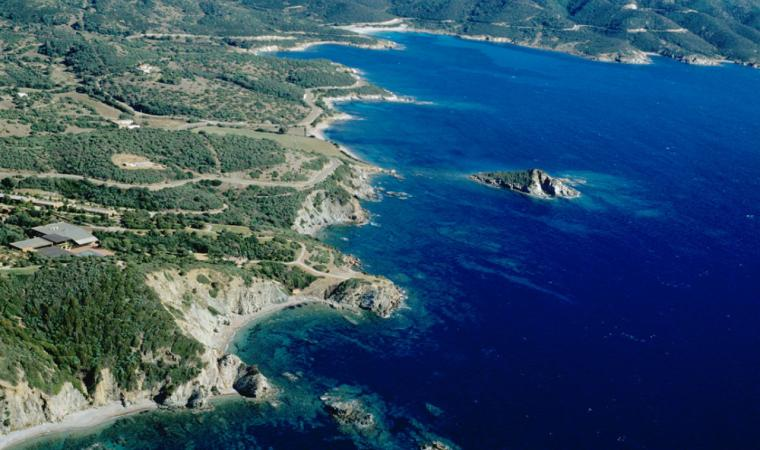 Teulada, veduta di Campionna; Teulada, a view of Campionna