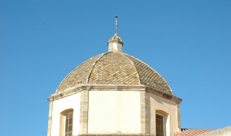 Chiesa san Giovanni battista, cupola - Lunamatrona
