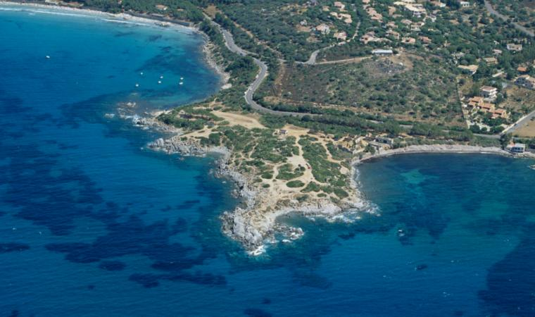 Quartu S.Elena, panoramica di Is Mortorius; A panoramic view of Is Mortorius beach, Quartu Sant'Elena
