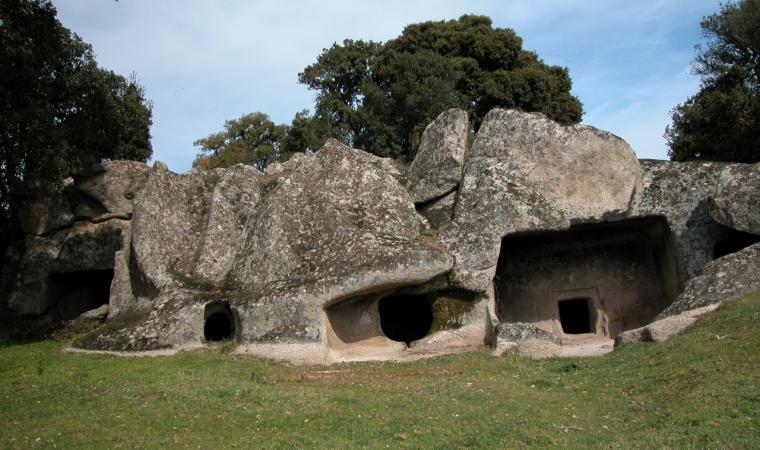 Buddusò, domus de janas di Ludurru; Domus de janas of Ludurru, Buddusò