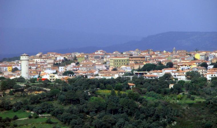 Luras, panoramica del paese