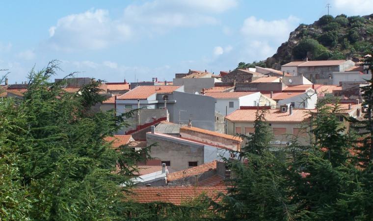 Veduta di Montresta