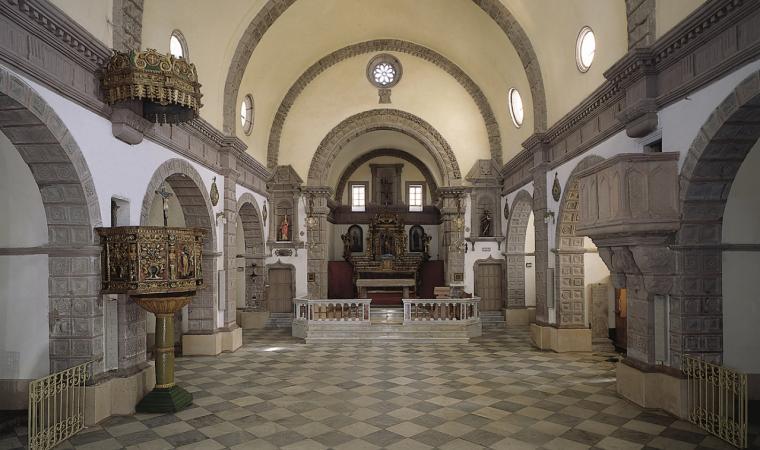 Chiesa di san Sebastiano, interni - Sorradile