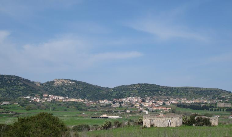 Panoramica di Laerru