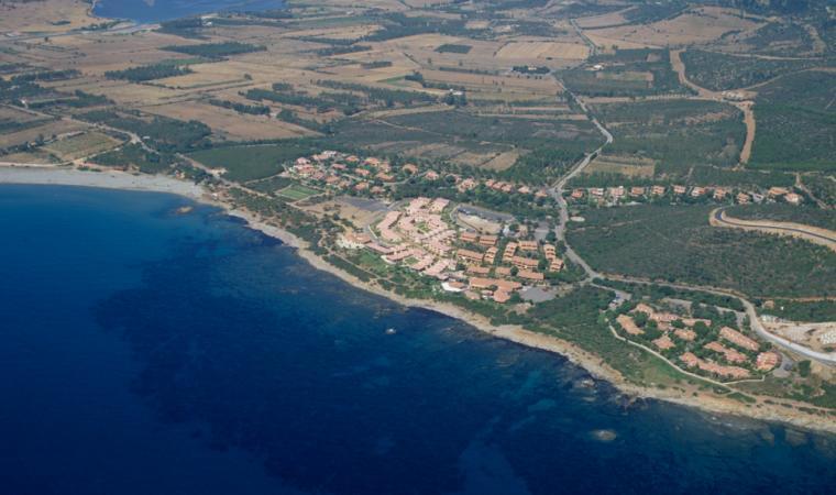 Villaputzu, spiaggia di Porto Corallo; The beach of Porto Corallo, Villaputzu