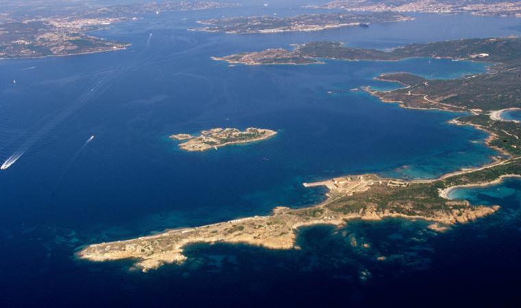 Caprera, veduta panoramica di Punta Rossa