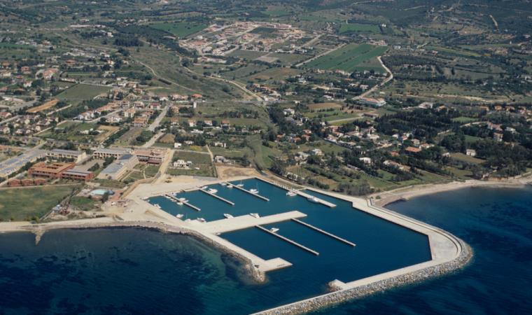 Quartu Sant'Elena, Marina di Capitana; Marina of Capitana