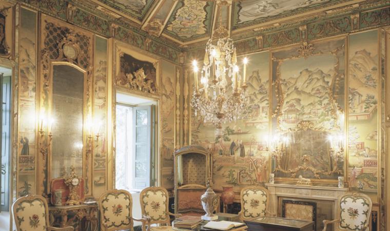 Villa d'Orri, sala interna - Sarroch