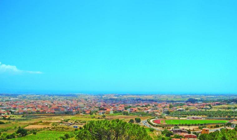 Capoterra, veduta