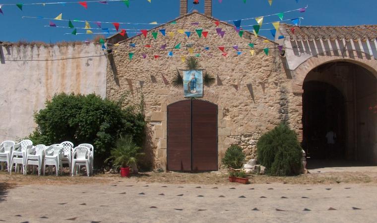 Elmas, chiesetta campestre di Santa Caterina; The Church of Santa Caterina, Elmas