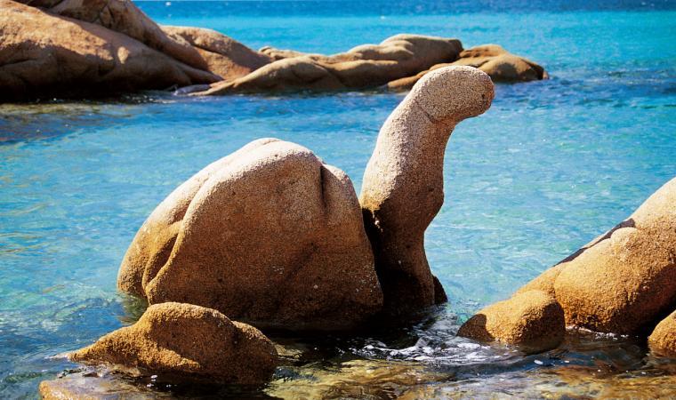 Roccia della tartaruga, Cala Ghjlgolu - Loiri Porto San Paolo