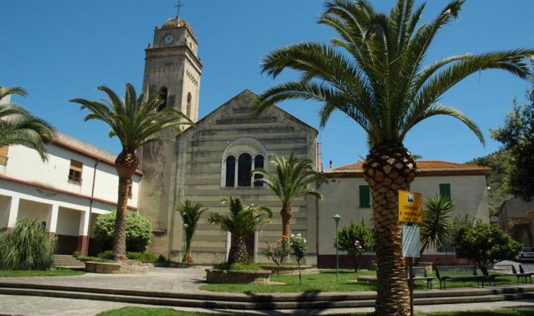 Gonnostramatza, parrocchiale dedicata a San Michele Arcangelo; Church of Gonnostramatza