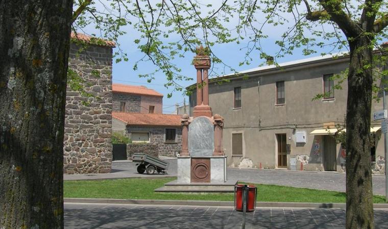 Norbello, monumento ai caduti; The War Memorial, Norbello