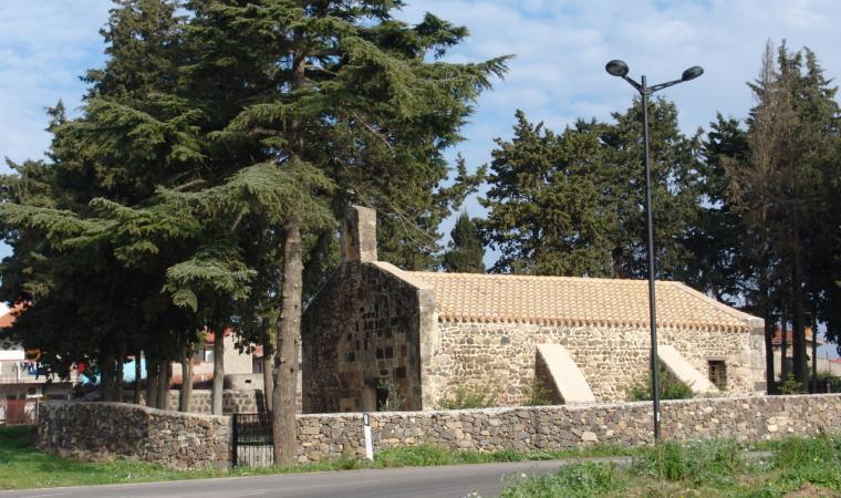Zerfaliu, chiesa di San Giovanni Battista; The Church of San Giovanni Battista, Zerfaliu