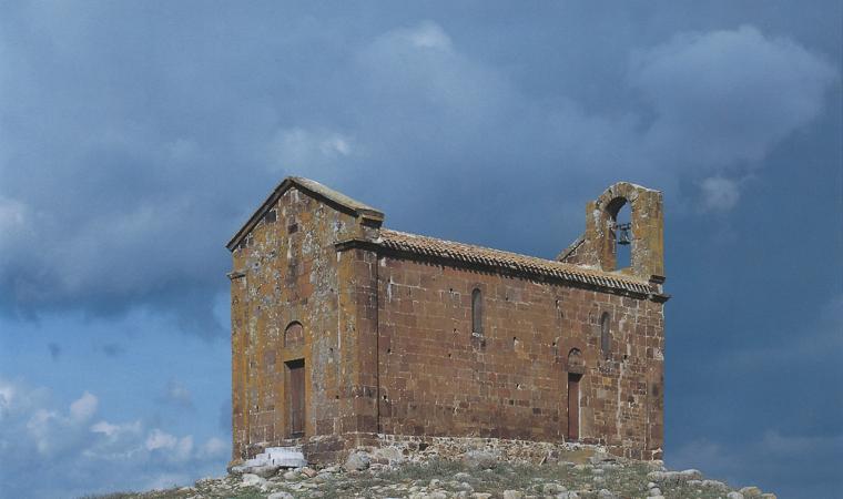 Bultei, chiesa di San Saturnino; The Church of San Saturnino, Bultei