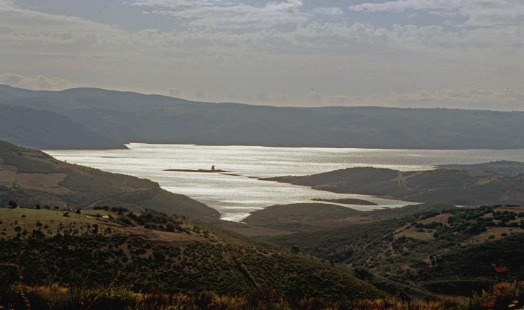 Veduta del Lago Mulargia