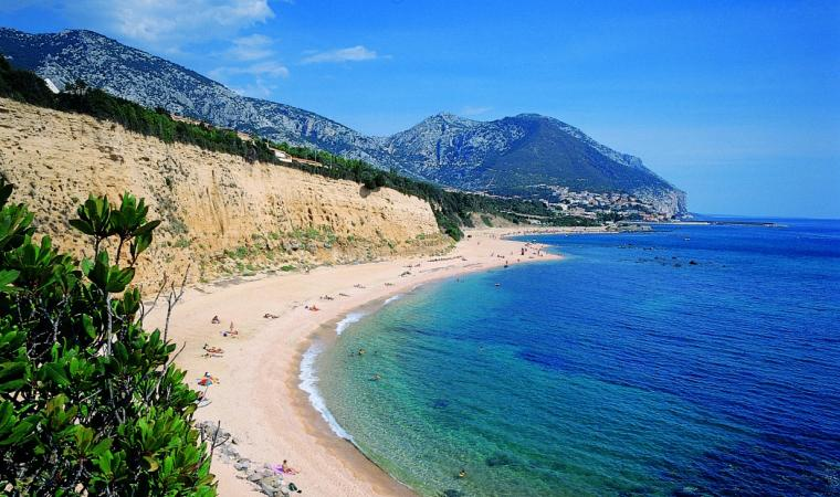 Dorgali, spiaggia di Sos Dorroles; The beach of Sos Dolores, Dorgali; Dorgali, Strand Sos Dorroles
