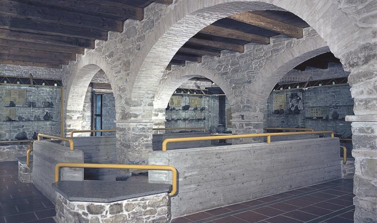 Interno museo - Villanovaforru