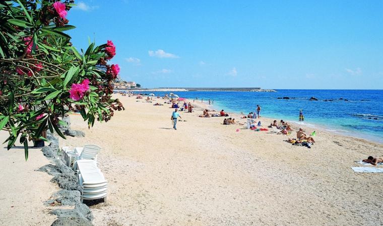 Dorgali, spiaggia di Palmasera; Dorgali, Palmasera Beach