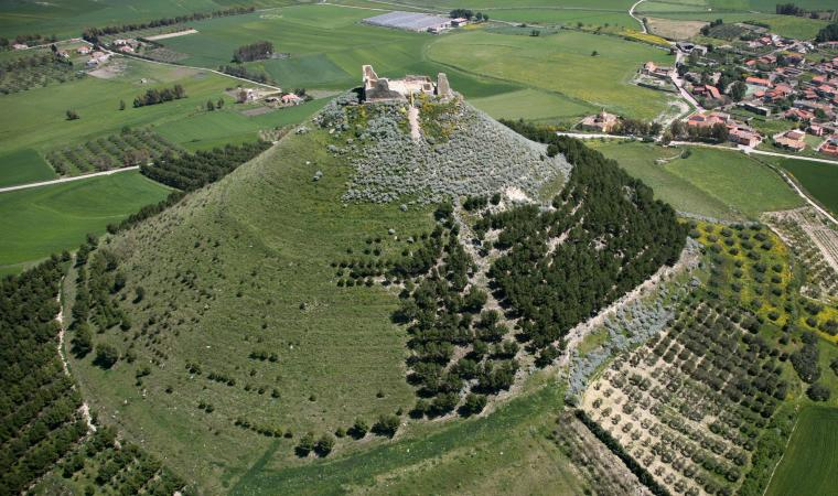 Las Plassas, castello di Marmilla