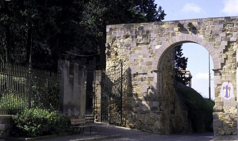 Castello di Sanluri - Ingresso
