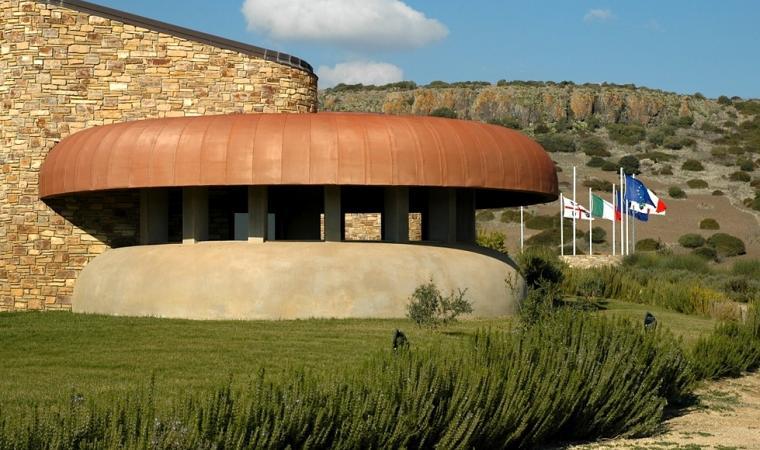 Museo Sa Corona Arrubia, esterno - Lunamatrona