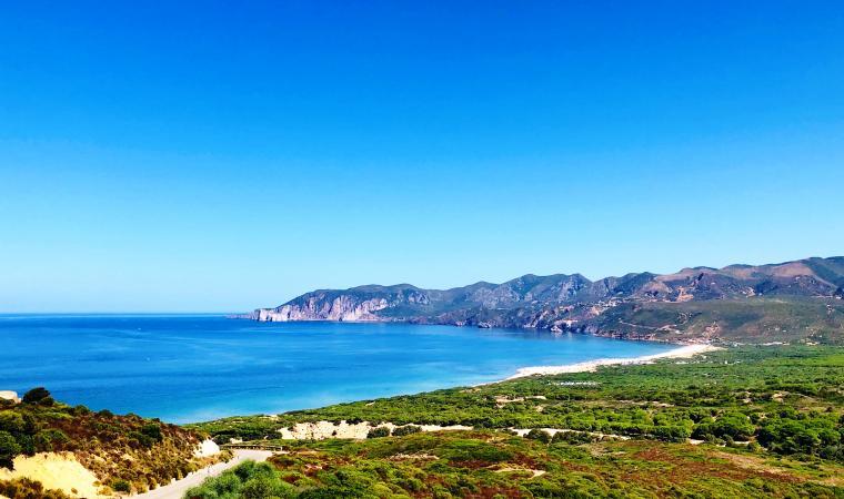 Panorama di Funtanamare - Marina di Gonnesa