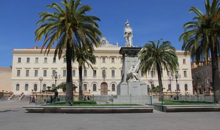 Piazza d'Italia - Sassari