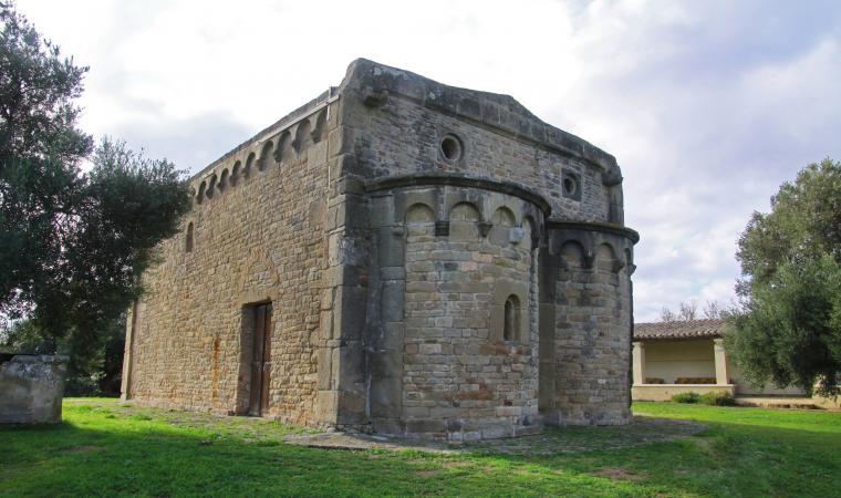 Chiesa di santa Maria Sibiola, retro - Serdiana