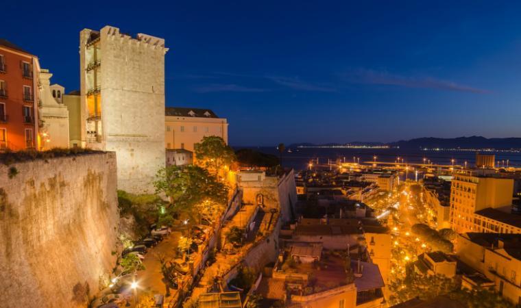 Bastione Santa Croce - Cagliari