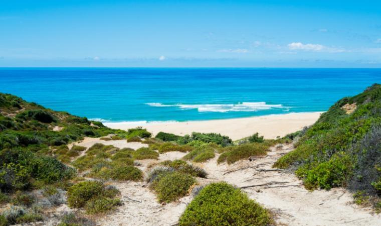 Spiaggia Scivu - Costa Verde