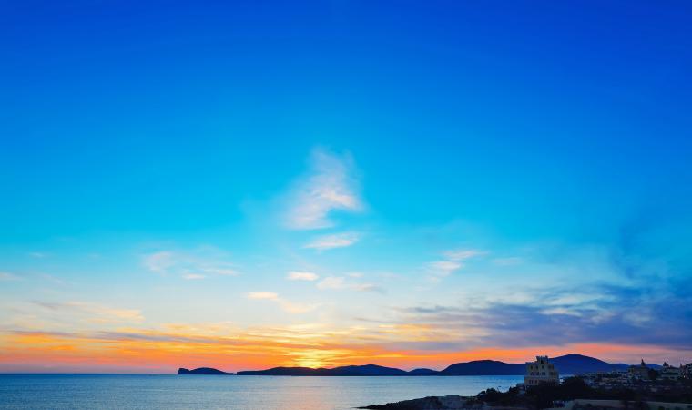 Tramonto sul mare - Alghero