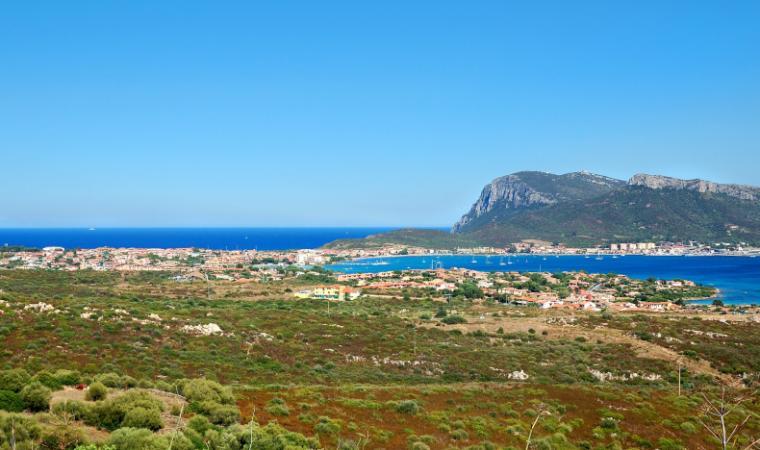 Veduta di Golfo Aranci