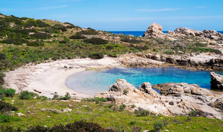 Cala Sabina, Asinara