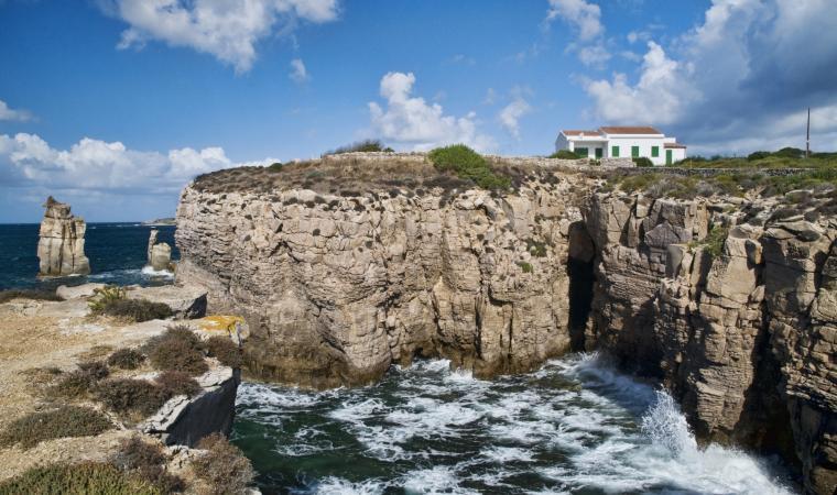 Le Colonne -  Isola san Pietro