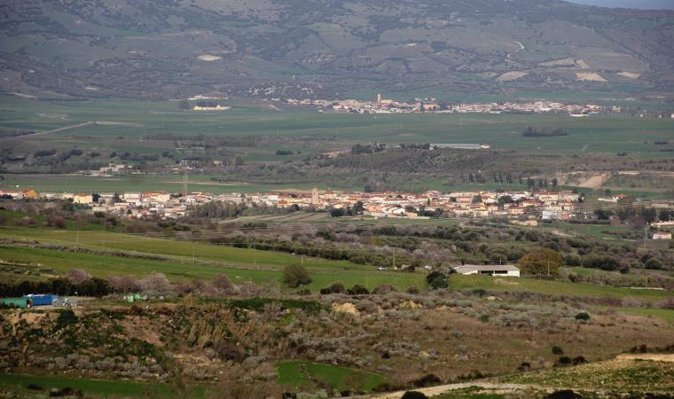 Veduta di Ussaramanna