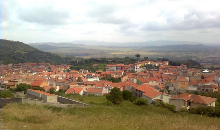 Veduta di Banari