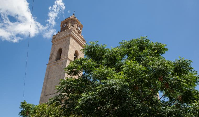 Parrocchia santa Barbara, campanile - Villacidro