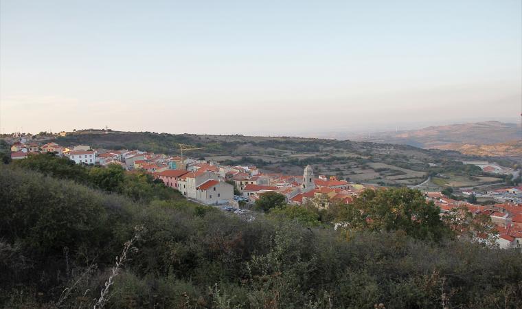 Veduta di Villanova Monteleone