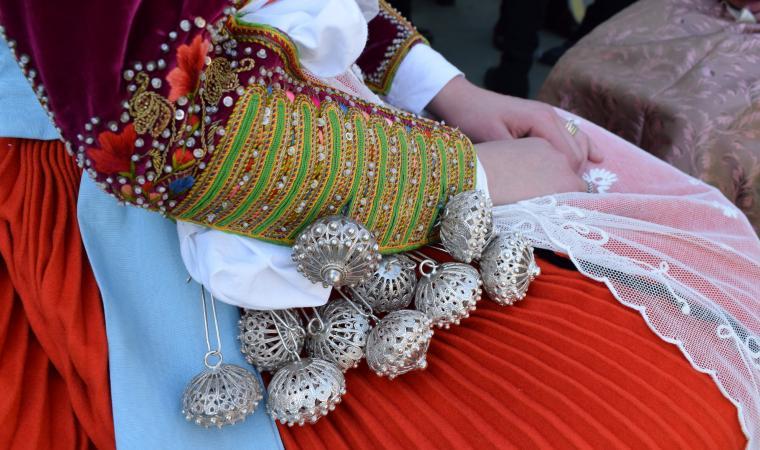 Bottoni abito tradizionale -  Ittiri
